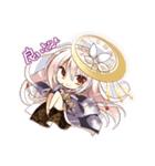 時計の妖精と少女達のオリジナルスタンプ(個別スタンプ:02)
