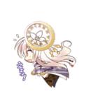 時計の妖精と少女達のオリジナルスタンプ(個別スタンプ:09)