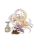 時計の妖精と少女達のオリジナルスタンプ(個別スタンプ:10)