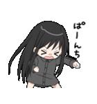 黒髪ロングの女の子3(個別スタンプ:08)