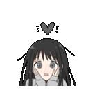 黒髪ロングの女の子3(個別スタンプ:23)