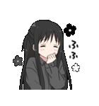 黒髪ロングの女の子3(個別スタンプ:25)
