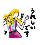 オシャレでモードな敬語スタンプ4(個別スタンプ:08)