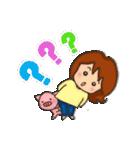 お肉大好き 肉女(個別スタンプ:21)