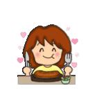 お肉大好き 肉女(個別スタンプ:22)