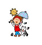 あかぼーママと犬っころ(ユーモア編)(個別スタンプ:07)