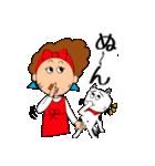 あかぼーママと犬っころ(ユーモア編)(個別スタンプ:14)