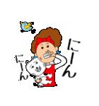 あかぼーママと犬っころ(ユーモア編)(個別スタンプ:16)