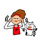 あかぼーママと犬っころ(ユーモア編)(個別スタンプ:29)