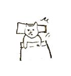 鼻筋の通ったネコ(個別スタンプ:11)
