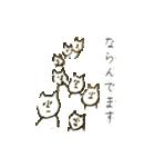 鼻筋の通ったネコ(個別スタンプ:25)