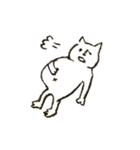 鼻筋の通ったネコ(個別スタンプ:38)
