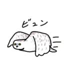 無難なトリさんのスタンプ-シロフクロウ編-(個別スタンプ:21)