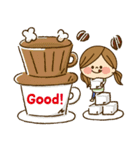 かわいい主婦の1日【大人かわいい編】(個別スタンプ:05)