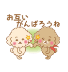 ふわっとトイプー 【ふんわり春スタンプ】(個別スタンプ:31)