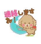 ふわっとトイプー 【ふんわり春スタンプ】(個別スタンプ:39)