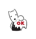 あどけない犬たちの楽しい日常, PUPPIN(個別スタンプ:14)