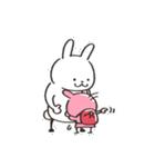 うさズキン(ピンク)(個別スタンプ:30)