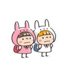 うさズキン(ピンク)(個別スタンプ:39)
