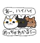 キョウさんちのネコたち(個別スタンプ:35)
