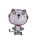 帰るネコさん 迎えるネコさん(個別スタンプ:16)