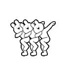 すこぶる踊るウサギ(個別スタンプ:24)