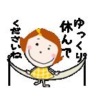 * 敬語のテイネちゃん * Part2(個別スタンプ:07)