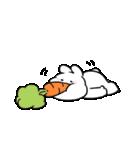 すこぶる動くちびウサギ【敬語】(個別スタンプ:34)