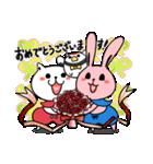 しろべにのハッピーライフ 春.ver(個別スタンプ:14)