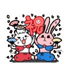 しろべにのハッピーライフ 春.ver(個別スタンプ:16)
