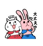 しろべにのハッピーライフ 春.ver(個別スタンプ:25)