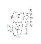 敬語にゃんころ(個別スタンプ:02)