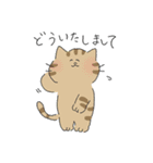敬語にゃんころ(個別スタンプ:03)