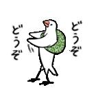 ふろしき文鳥 その三(個別スタンプ:12)