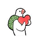 ふろしき文鳥 その三(個別スタンプ:28)