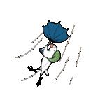 ふろしき文鳥 その三(個別スタンプ:32)