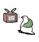 ふろしき文鳥 その三(個別スタンプ:38)