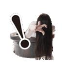 【貞子】貞子のお友達スタンプ(個別スタンプ:23)