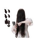 【貞子】貞子のお友達スタンプ(個別スタンプ:25)