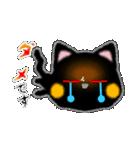 黒ネコさん、風邪(花粉症)です。辛いです(個別スタンプ:31)