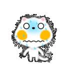 白ネコちゃんです。敬語です。(個別スタンプ:27)