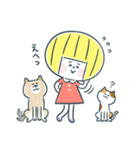 レモンちゃんと犬と猫(個別スタンプ:38)
