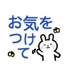 ちびうさ。〜敬語、デカ文字〜(個別スタンプ:3)