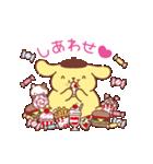ポムポムプリン ぷくぷくデザイン(個別スタンプ:7)