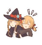 魔法使いの姉妹ちゃん(個別スタンプ:03)