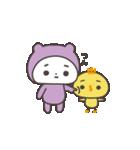 うちの子(紫の子)(個別スタンプ:21)