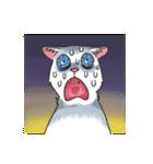 「瞬く」の白猫は見た(個別スタンプ:25)