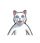 「瞬く」の白猫は見た(個別スタンプ:26)