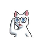 「瞬く」の白猫は見た(個別スタンプ:31)