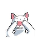 「瞬く」の白猫は見た(個別スタンプ:37)